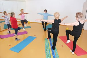 Balance Exercises for Elderly Adults
